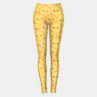 Thumbnail image of Yellow Chicken Leggings, Live Heroes
