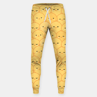 Thumbnail image of Yellow Chicken Sweatpants, Live Heroes