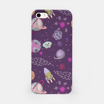 Thumbnail image of Purple Galaxy iPhone Case, Live Heroes