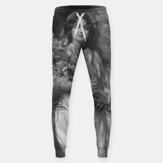 Thumbnail image of Iris by Norman Prescott-Davies In Grey Scale Sweatpants, Live Heroes