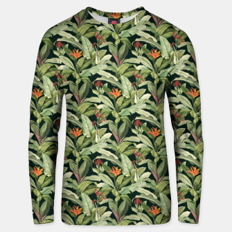 Thumbnail image of Jungle Boho Tropical Style Pattern Design Unisex sweater, Live Heroes