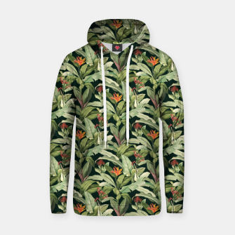 Thumbnail image of Jungle Boho Tropical Style Pattern Design Hoodie, Live Heroes