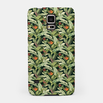 Thumbnail image of Jungle Boho Tropical Style Pattern Design Samsung Case, Live Heroes