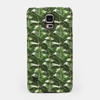 Thumbnail image of Jungle Style Palm Trees Pattern Artwork  Samsung Case, Live Heroes