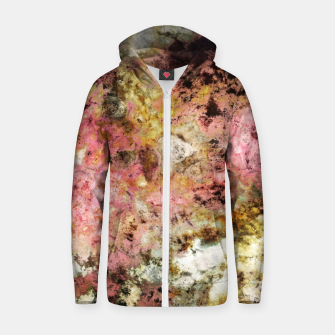 Thumbnail image of The rough the pink and the groovy Zip up hoodie, Live Heroes
