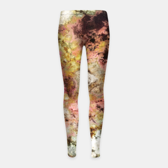 Thumbnail image of The rough the pink and the groovy Girl's leggings, Live Heroes