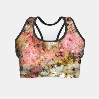Thumbnail image of The rough the pink and the groovy Crop Top, Live Heroes