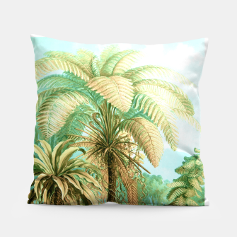 Thumbnail image of Vintage Tropical  Pillow, Live Heroes