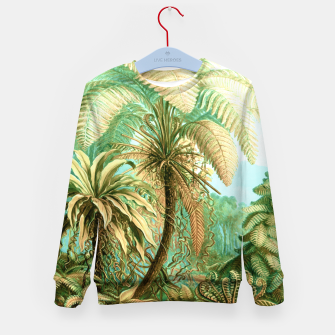 Thumbnail image of Vintage Tropical  Kid's sweater, Live Heroes