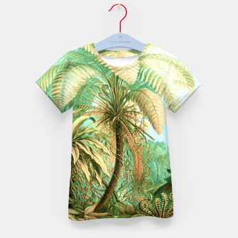 Thumbnail image of Vintage Tropical  Kid's t-shirt, Live Heroes
