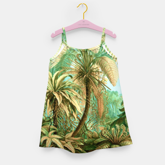 Thumbnail image of Vintage Tropical  Girl's dress, Live Heroes