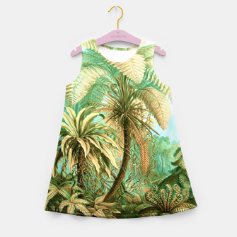 Thumbnail image of Vintage Tropical  Girl's summer dress, Live Heroes