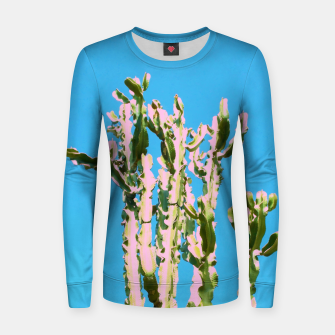 Thumbnail image of Cactus Beauty Women sweater, Live Heroes