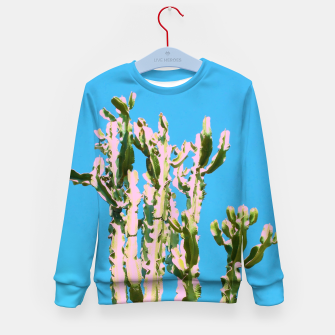 Thumbnail image of Cactus Beauty Kid's sweater, Live Heroes