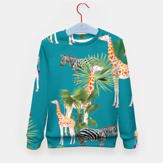 Thumbnail image of Africa Kid's sweater, Live Heroes