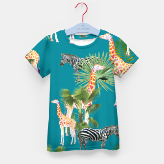 Thumbnail image of Africa Kid's t-shirt, Live Heroes