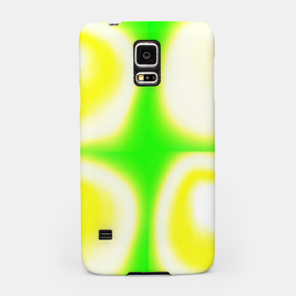 Thumbnail image of Glow circles on green Samsung Case, Live Heroes