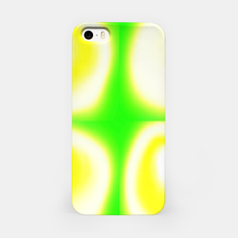 Thumbnail image of Glow circles on green iPhone Case, Live Heroes