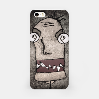 Thumbnail image of Sketchy Style Head Funny Creepy Drawing iPhone Case, Live Heroes