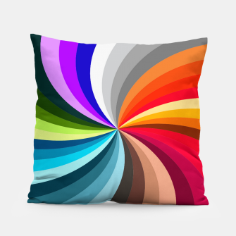 Thumbnail image of GROOVY FUNK THINGS RAINBOW SWIRL Pillow, Live Heroes