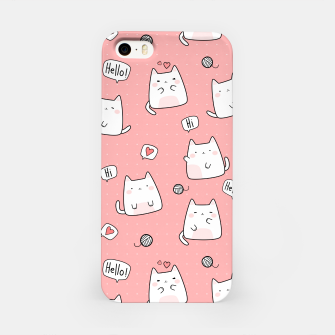 Thumbnail image of Chbby Cats iPhone Case, Live Heroes