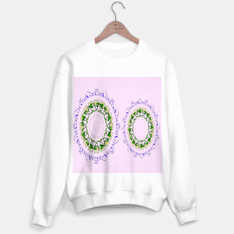 Thumbnail image of Abstract circles on pink Sweater regular, Live Heroes
