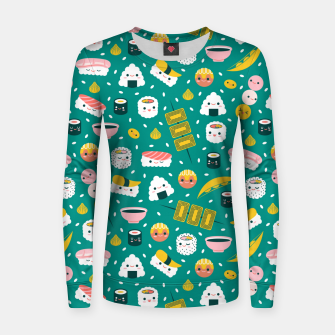 Thumbnail image of Sushii  Women sweater, Live Heroes