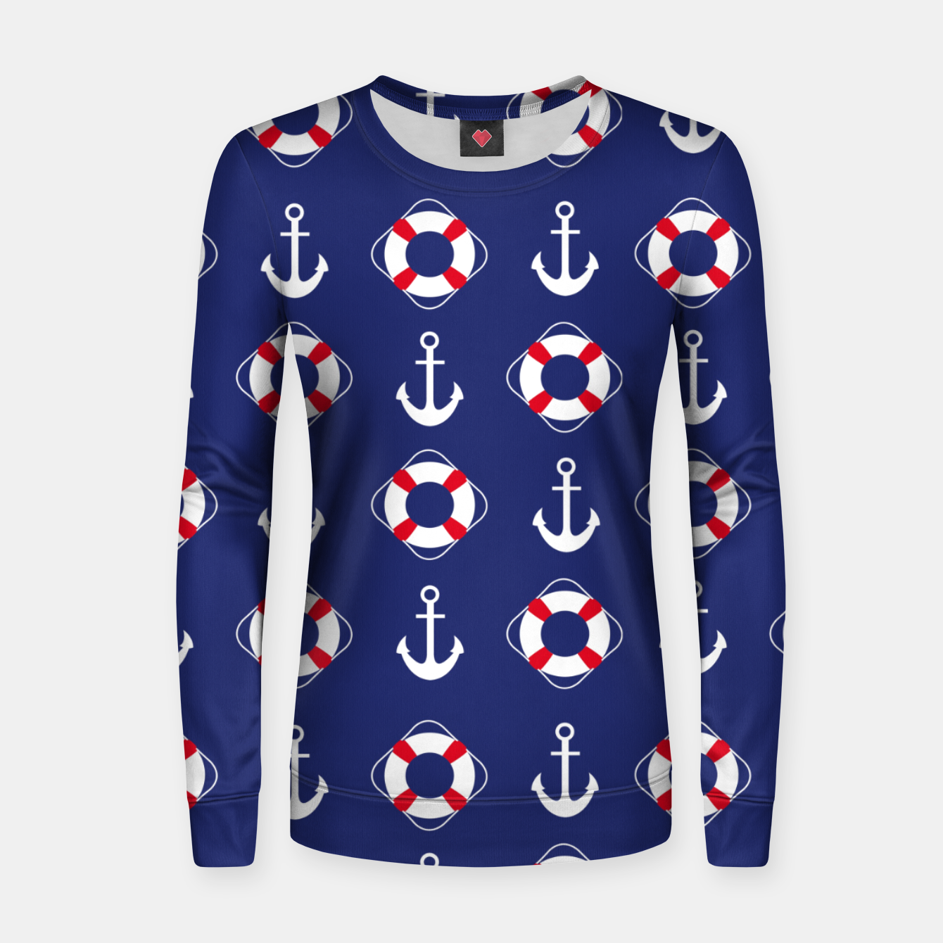 Image of GROOVY FUNK THING NAUTICAL Women sweater - Live Heroes