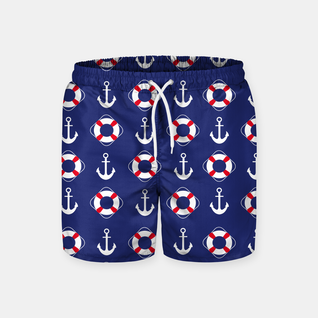 Image of GROOVY FUNK THING NAUTICAL Swim Shorts - Live Heroes