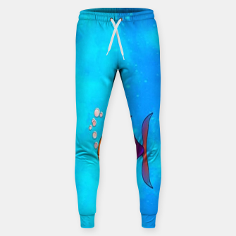 Thumbnail image of Cute colorful fishes on sea Sweatpants, Live Heroes