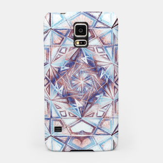 Thumbnail image of Tesseract Psychedelic Kaleidoscope  Samsung Case, Live Heroes
