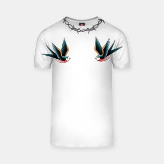 Thumbnail image of Old school art T-shirt, Live Heroes