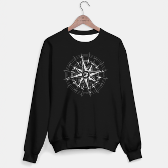 Thumbnail image of White Compass Rose (single) Sweater regular, Live Heroes