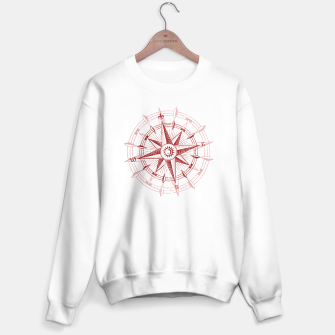 Thumbnail image of Bordeaux Compass Rose [single] Sweater regular, Live Heroes