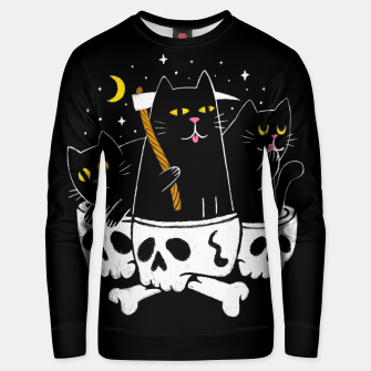 Thumbnail image of Cat Reaper Unisex sweater, Live Heroes