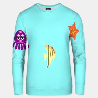 Thumbnail image of Sea creatures Unisex sweater, Live Heroes