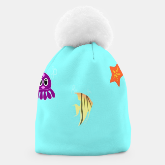 Thumbnail image of Sea creatures Beanie, Live Heroes