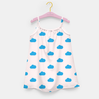Thumbnail image of Kawaii blue clouds on pastel sky Girl's dress, Live Heroes