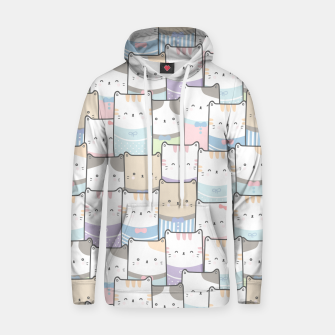 Thumbnail image of Cats Wall Hoodie, Live Heroes