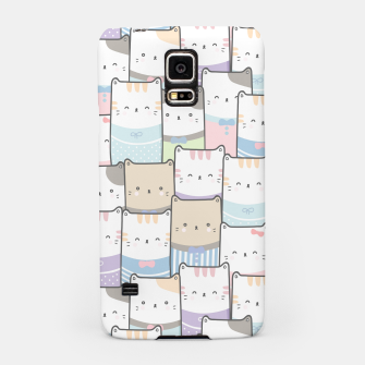 Thumbnail image of Cats Wall Samsung Case, Live Heroes