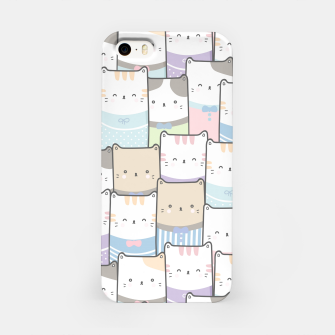 Thumbnail image of Cats Wall iPhone Case, Live Heroes