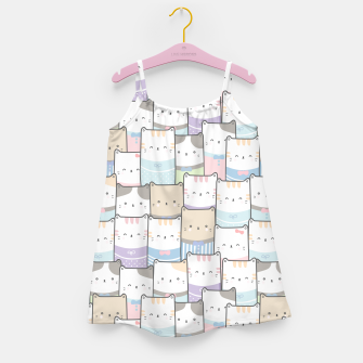 Thumbnail image of Cats Wall Girl's dress, Live Heroes