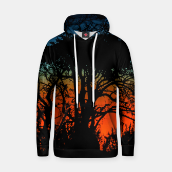 Thumbnail image of Sunset Colorful Nature Scene Hoodie, Live Heroes