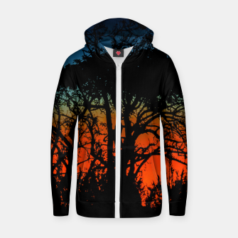 Thumbnail image of Sunset Colorful Nature Scene Zip up hoodie, Live Heroes