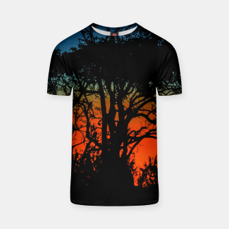 Thumbnail image of Sunset Colorful Nature Scene T-shirt, Live Heroes