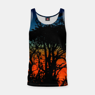 Thumbnail image of Sunset Colorful Nature Scene Tank Top, Live Heroes