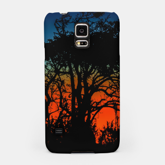 Thumbnail image of Sunset Colorful Nature Scene Samsung Case, Live Heroes