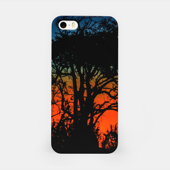 Thumbnail image of Sunset Colorful Nature Scene iPhone Case, Live Heroes