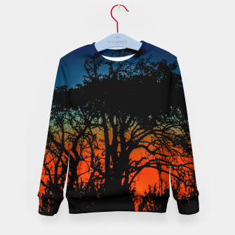 Thumbnail image of Sunset Colorful Nature Scene Kid's sweater, Live Heroes