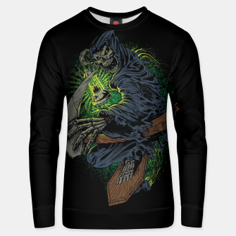 Thumbnail image of Grim Reaper Unisex sweater, Live Heroes